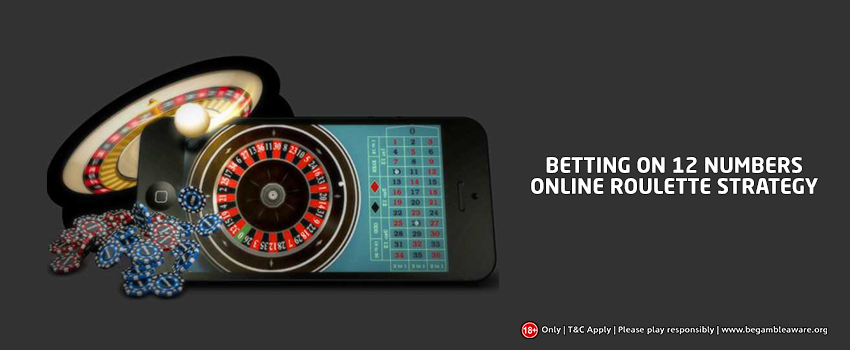 Why betting 12 numbers is the best online Roulette strategy